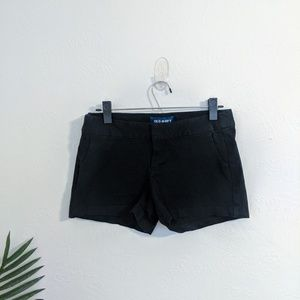 3/$15 Old Navy Trouser Style Shorts Black